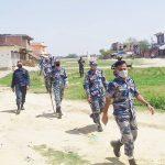 नेपाल भारत दुवैदेसका सुरक्षाकर्मी दसगजामा तैनाथ